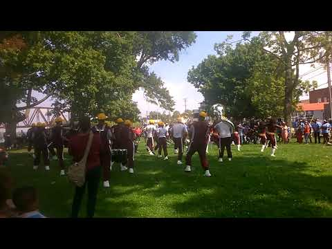 Simmons College Louisville Performance at Henderson Ky Diversity Festival & Parade 2017