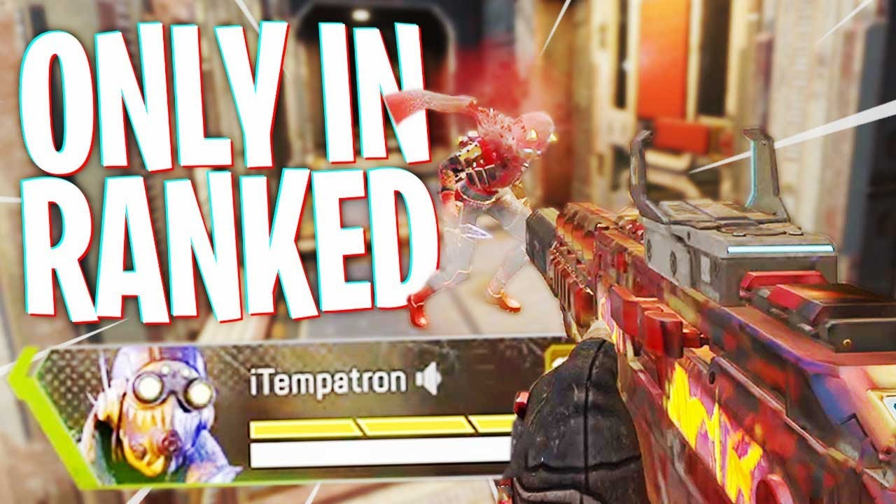 You Only Get These Fights in RANKED! – Apex Legends Season 8
