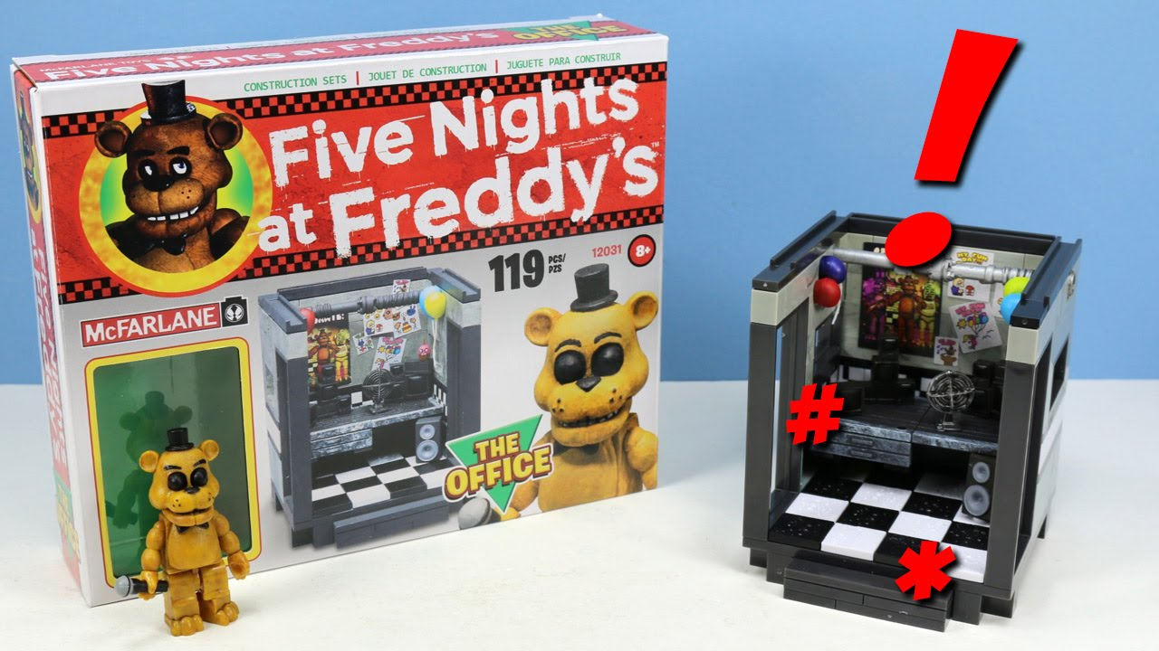 how to build fnaf lego parts and services
