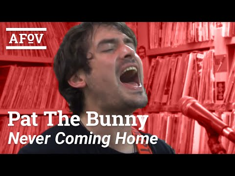 "Pat The Bunny - ""Never Coming Home (Song For The Guilty)"" A Fistful Of Vinyl Sessions (KXLU 88.9)"