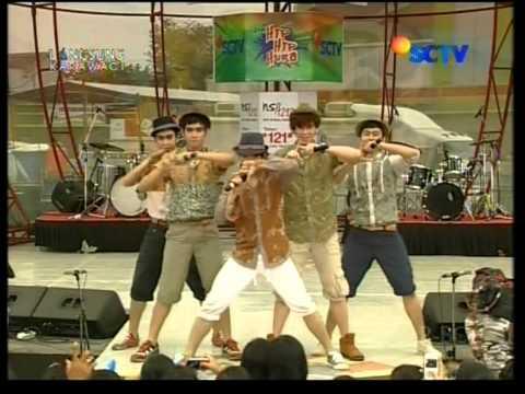 Mr.Bee dan  S9B Live Performed di HIP HIP HURA Courtesy SCTV
