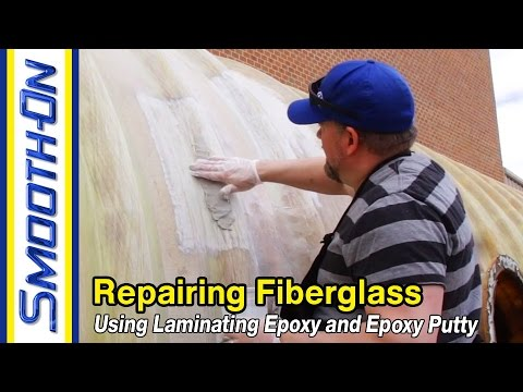 How to Repair Fiberglass Using Epoxy