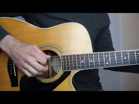 Break Up In The End - Cole Swindell - Right Hand Picking Lesson | Tutorial