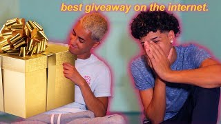 EPIC GIVEAWAY REVEAL (+ shocking confession)