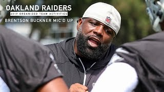 Mic'd Up: Defensive Line Coach Brentson Buckner at 2019 OTAs