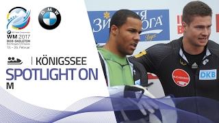 Johannes Lochner looks promising in KÖnigssee | BMW IBSF World Championships 2017