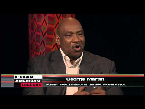 African American Legends: George Martin, former Executive Director, NFL Alumni Association