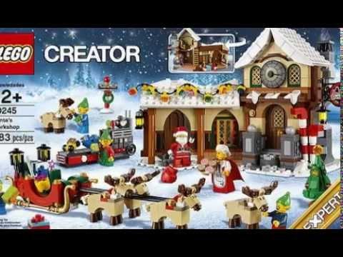 LEGO 10245 Creator Santa's Workshop. - YouTube