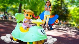 PIPONA Лера следит за порядком в парке рзвлечений