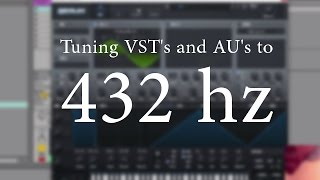Tuning Massive and Serum to 432