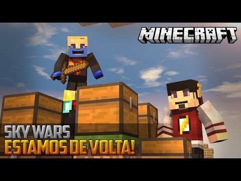 Minecraft: SKY WARS - CHOVENDO TNT! ‹ AMENIC ›