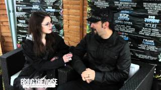 Disturbed - Mike Wengren Interviewed Bring The Noise UK At Download Festival 2011
