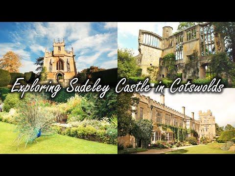 Exploring Sudeley Castle - Cotswolds - Winchcombe England