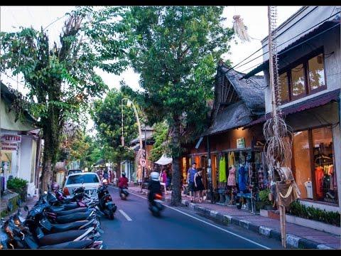 Perjalanan dari Tegal Alang menuju Kawasan Ubud Bali