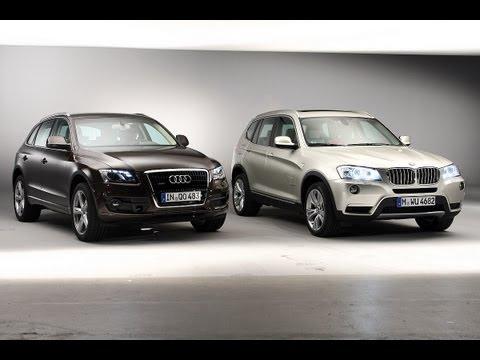 BMW X3 vs. Audi Q5 - Bayrisches Duell in der SUV Klasse
