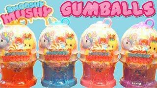 Smooshy Mushy Ice Cream and Bubble Gum Machine Squishies!