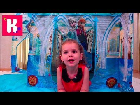 Принцесса ЭЛЬЗА История про Холодное сердце Disney Frozen