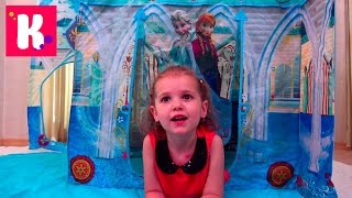 Холодное Сердце /Замок Принцессы /обзор игрушек Фроузен
