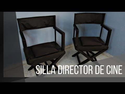 SILLA DIRECTOR DE CINE- CHAIR DIRECTOR. Proyect #3