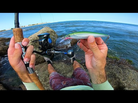 Jetty Surf Fishing For That One Big Bite - Stuart Florida