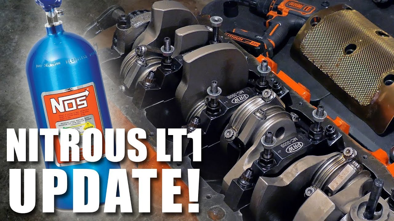 Nitrous LT1 / SBC Build ( Update ) New Oiling System for 7000 RPM