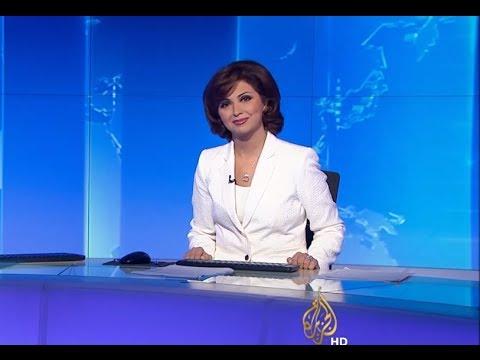 إيمان عياد تقدم أول نشرة أخبار بعد تعافيها التام
