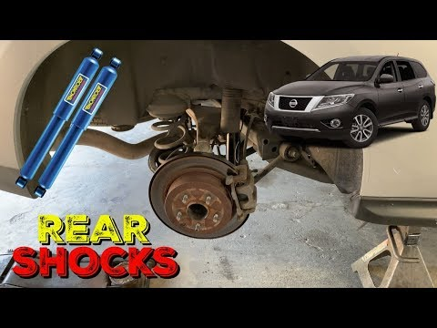 How To Replace Nissan Pathfinder Rear Shocks