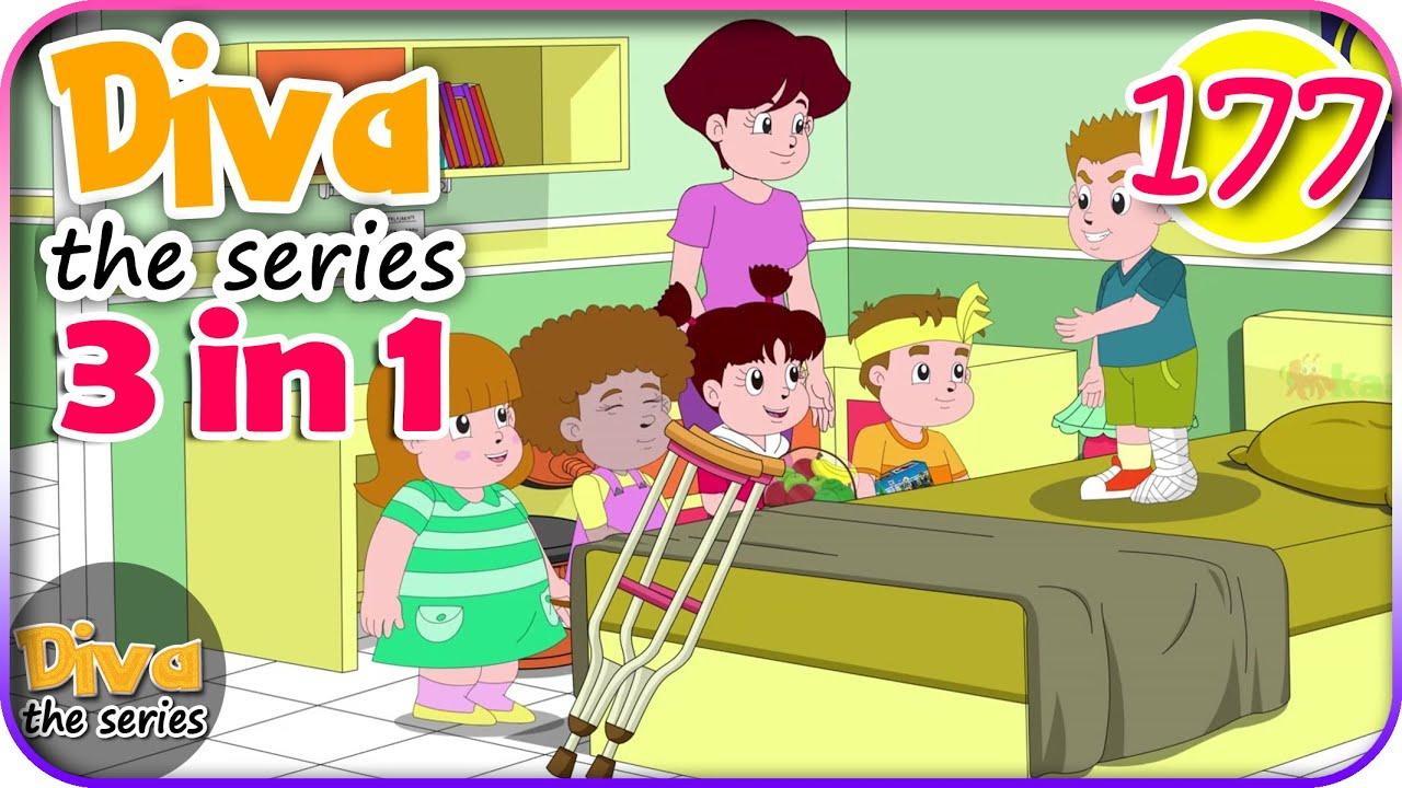 Seri Diva 3 in 1 | Kompilasi 3 Episode ~ Bagian 177 | Diva The Series Official