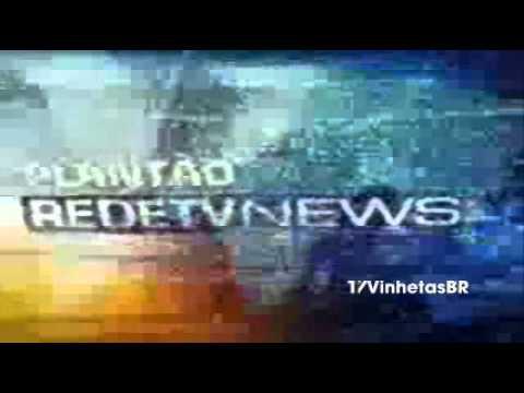 Plantão RedeTV  Vinheta 2010