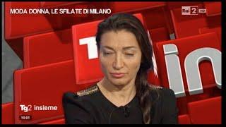 """ELISABETTA FRANCHI - Intervista """"TG 2 Insieme"""""""