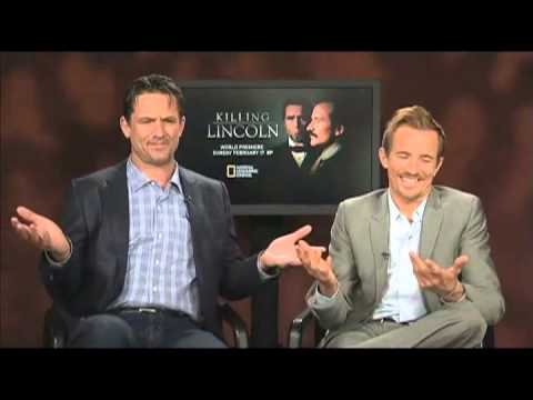Killing Lincoln Exclusive: Billy Campbell and Jesse Johnson