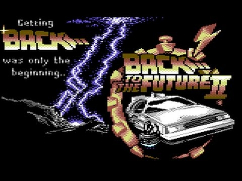 Back To The Future Part II Review for the Commodore 64 by John Gage