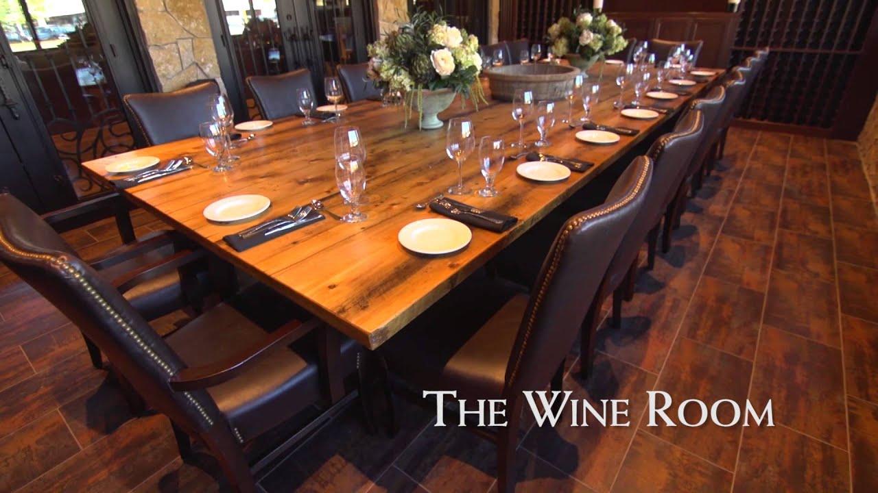 Tuscan Kitchen Burlington Wine Room - YouTube