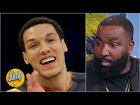 Kendrick Perkins' idea to fix the NBA Slam Dunk Contest: All judges have to be champs | The Jump