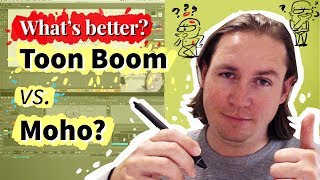 What's better? Toon Boom vs. Moho