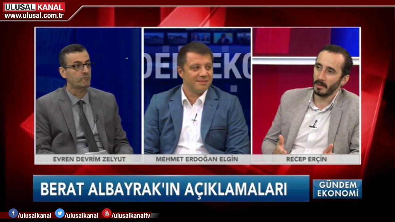 Gündem Ekonomi- 04 Ağustos 2019- Mehmet Erdoğan Elgin- Recep Erçin- Devrim Zelyut- Ulusal Kanal