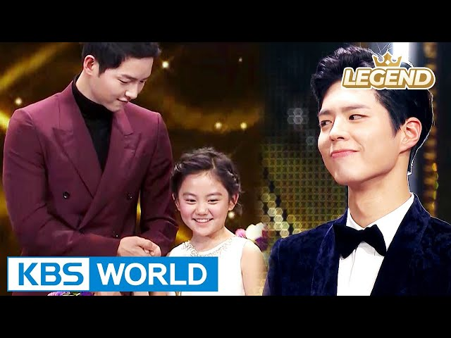 Song Joongki VS Park Bogum, what is Heo Jeongeun's choice? [2016 KBS Drama Awards/2017.01.03]