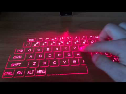 Обзор лазерной клавиатуры