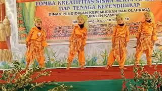 Gerak dan Lagu Anak Gembala dan Burung Kaka Tua Oleh PAUD Kecamatan Kuok