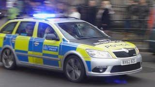 metropolitan police skoda octavia vrs area car responding w btp arv assisting