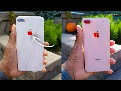 new arrival bcc23 bf270 Don't Put a iPhone 7 dbrand Skin on your iPhone 8! - YouTube