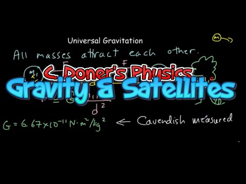 IB Physics: Universal Gravitation & Satellites