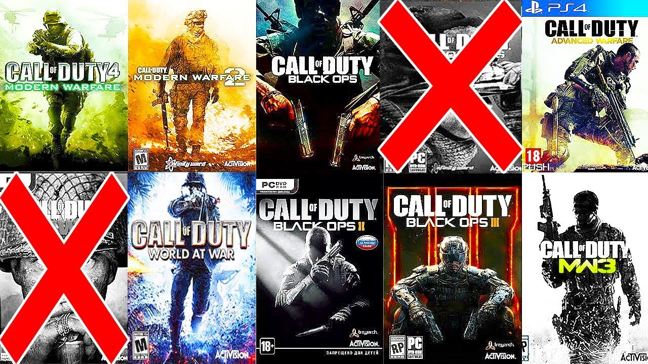 Top 10 Call of Duty Games of All Time - YouTube