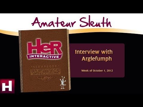 Amateur Sleuth Blog: Interview with Michael Gray (arglefumph) | Nancy Drew Games | HeR Interactive