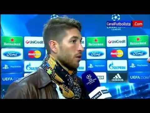 Sergio Ramos Real Madrid 3 Galatasaray 0 Champions League 03-04-2013