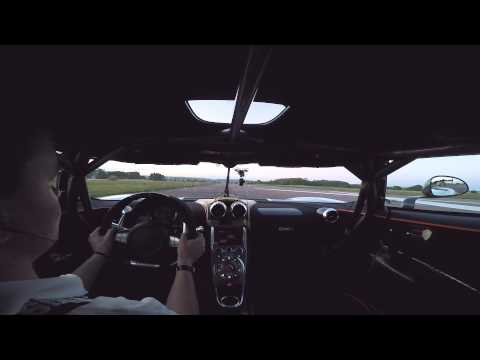 Koenigsegg One:1 0-300-0kmh – Full noise edition