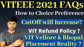 VITEEE Important Doubts - Cutoff   Placement   Choice Filling   Refund Policy