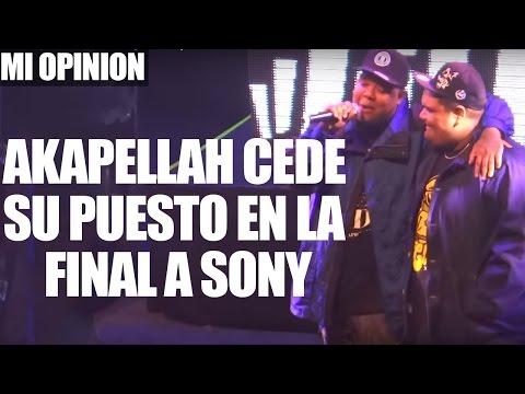 ADMIRABLE | Akapellah Cede Su Puesto En La Final A Sony | God Level Fest 2016 | Mi Opinión