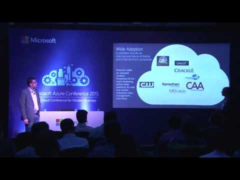 Microsoft Azure Conference 2015 Stream video using the cloud scale of Azure Media Services