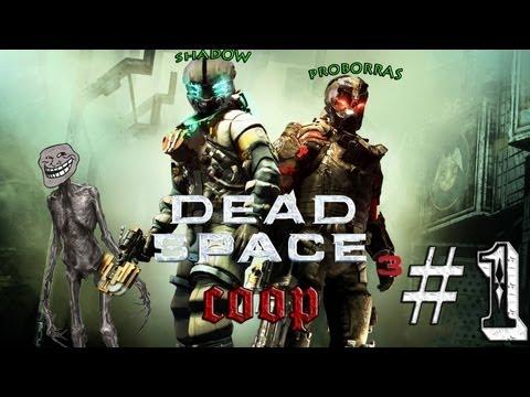 """Dead Space 3 Coop Prologo+cap 1 (Hard)  """"La nevada y el apartamento de Shadow/Isaac"""""""